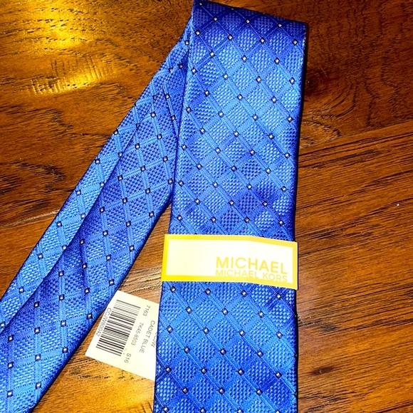 Michael Kors Cadet Blue Tie NWT